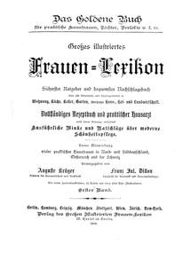 """Cover """"Frauen-Lexikon"""""""